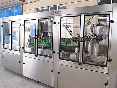 Automatic Water Washing Filling Capping 3 in 1 Machine(12000BPH)